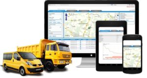 мониторинг транспорта и расхода топлива