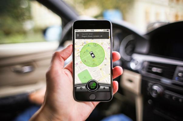 Мониторинг транспорта через смартфон
