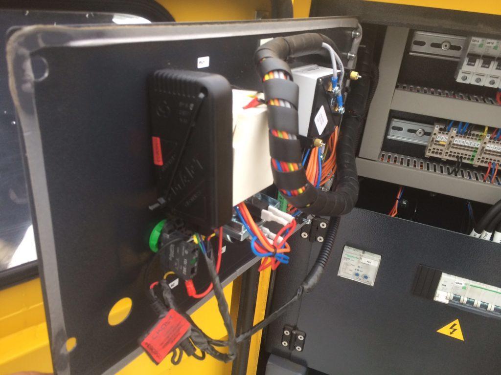 Установить GPS трекер на электрогенератор