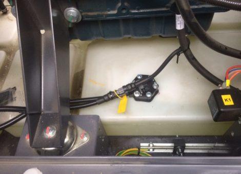 Установить GPS трекер и контроль расхода топлива на электрогенератор
